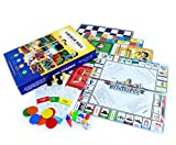 SARTHAM 4 in 1 - Ludo, Snake Ladder, Chess and Business Board Game
