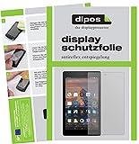 dipos I 2X Schutzfolie matt passend für Amazon Fire HD 8 (2018) Folie Bildschirmschutzfolie
