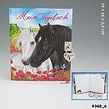 Miss Melody Tagebuch mit Stickern, Motiv 2, zwei Pferde *Neu & Ovp*