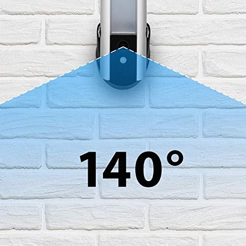516k-UYdZCL [Bon Plan Netatmo] Smartwares Guardian CIP-39901 - Caméra de surveillance connectée avec éclairage intégré, alarme et audio 2 Voies