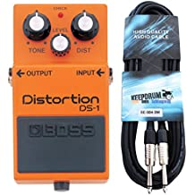 Boss DS de 1 Pedal de distorsión Keepdrum Guitarra ...