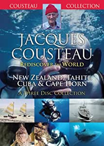 Jacques Cousteau - New Zealand, Tahiti, Cuba And Cape Horn