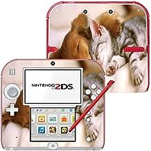 Colección 146, Custom Consola Nintendo DS Lite, 3DS, 3DS XL, Wii U Diseño Pantalla Skin Protector Funda Hunde 10058 Nintendo 2DS Designfolie