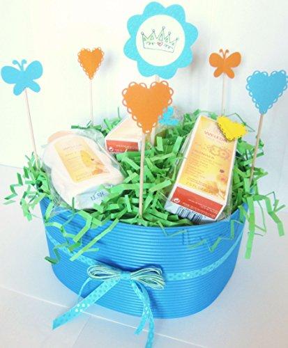 tarta-de-panales-dodot-con-productos-weleda-modelo-principito-baby-shower-gift-idea-para-ninos