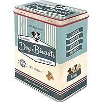 """Nostalgic-Art 30145 - Placa decorativa con diseño de perro y texto en alemán """"Dog Biscuits"""", metal, Dog Biscuits, 10  x  14  x  20 cm"""