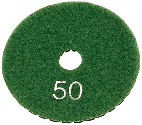 Preisvergleich Produktbild DealMux Grit 50 Tile Stein Polierer Grinder Diamant-Pad, 3-Zoll, Schwarz, Grün,