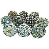 APEX OUTLET ™ Ceramic Drawer knobs for Dresser Wardrobe Cabinet cupboards Door knobs for Drawers Handle Children Drawer…