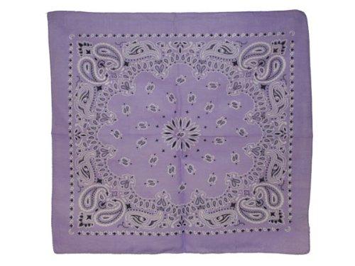 Bandana di colori e motivi diversi (BA-161) viola multifunzione classica foulard  scialle 63b8f57ea17