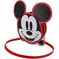 KARACTERMANIA Diseny Icons Micky Maus-Wide Kette Schultertasche Umhängetasche, 20 cm, Red