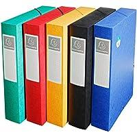 Exacompta 50910E - Organizador de almacenaje 25 x 33 x 6 cm, A4, colores surtidos