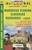 SC 232 Muranska planina, Sl. Rudohorie-zap. 1:100T: Shocart Wanderkarte