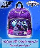 Vampirina Backpack School Bag for Girl Sparkle Glitter Backpacks Toddler Kids Bags Girls Bagpack
