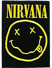 Nirvana Patches Music Band Logo Embroidered Iron on Patch MG05