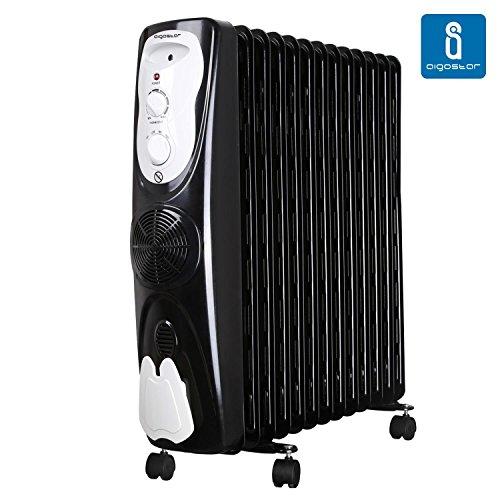 Aigostar Protector 33JHG, radiatore ad olio da 2300 W con 13 elementi
