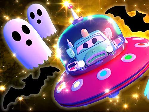 【Halloween ! 】 Süßes oder Saures ! / Die kleinen Autos sprechen mit einem Geist