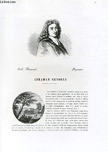 Biographie d'Abraham Genoels (1640-1...