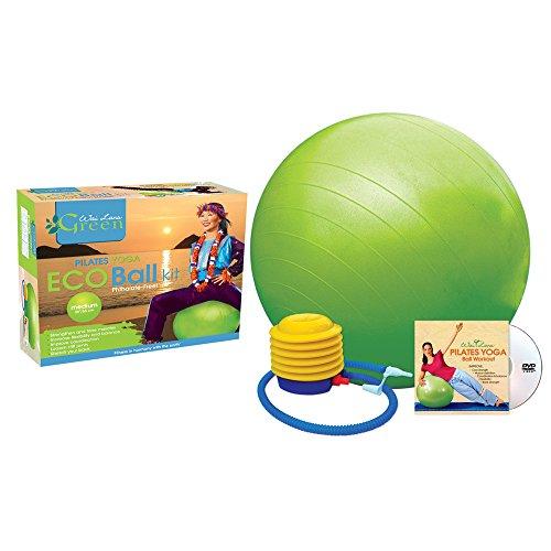 Wai Lana Green Eco Ball Kit mit DVD, grün, Medium -