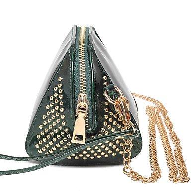 Damenmode klassische Crossbody-Tasche Green