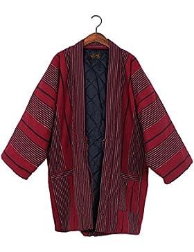 Chaleco de Kimono japonés unisex Chaleco de invierno espesar ropa de casa # 05
