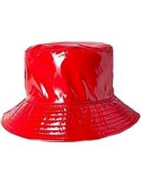 Amazon.co.uk  Red - Bucket Hats   Hats   Caps  Clothing cd7d0aacdf72
