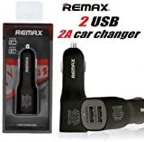 #10: (REMAX HI-SPEED [3.1 AMP 2-PORTS]Hi-Speed Car Charger for all smartphones & tablets + Compatible Technology + Qualcomm Quick Charge 3.0 Technology +Sleek, Compact Design & Quality Engineered for Roads, BLACK)