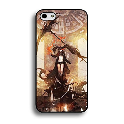 Comic Black Rock Shooter Iphone 6 / 6s ( 4.7 Inch ) Phone Case Cover,Fashionable Retro Cartoon Black Rock Shooter Case Cover for Solid PC Shell for Iphone 6 / 6s ( 4.7 Inch )