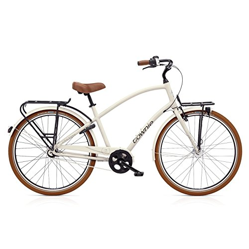 Electra Townie Commute 7i EQ Men Stone Grey mit LED Beleuchtung