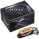 Yibuy 4.3KOhms Résistance 3 Corde Basse Micro avec Entrée Jack for Cigare Box Guitare