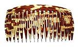 Einsteckkamm ca. 10 x 5 cm handgemacht Spaltzahn Steckkamm - hergestellt in Deutschland