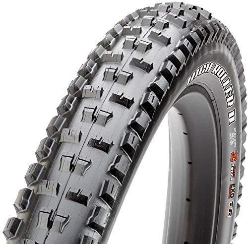 Maxxis High Roller - Neumático Plegable de Doble Compuesto Exo/TR, Color Negro, tamaño 27.5 x 3.00-Inch