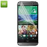 3x pellicola protettiva display per HTC ONE M9 trasparente clear lucida + pannetto pulizia display qualita premium firmata Digital Bay