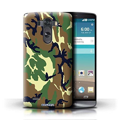 Kobalt® Imprimé Etui / Coque pour LG G3/D850/D855 / Marron 2 conception / Série Armée/Camouflage Vert 4