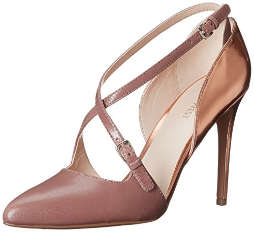 Nine West Earnest Kleid aus Leder Pump Natural/Natural