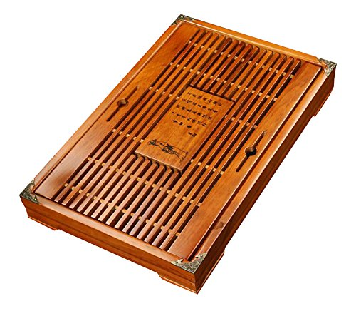 Home Rectangle Holz Serviertablett für GongFu Tee