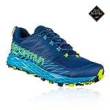 LA SPORTIVA Herren Lycan GTX Traillaufschuhe Mehrfarbig (Indigoblau/Tropisches Blau 000) 46 EU