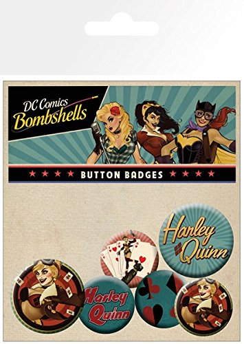 gb-eye-ltd-dc-comics-harley-quinn-bombshell-pack-de-chapas