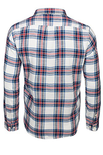 Lee Hemd Button Down Weiß/Blau