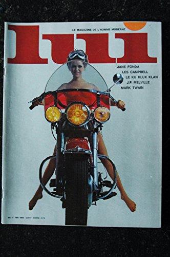 LUI 017 N°17 JANE FONDA LES CAMPBELL LE KU KLUX KLAN J.P. MELVILLE MARK TWAIN VINTAGE 1965