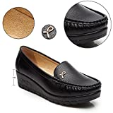 Cestfini Ladies Comfort Flat Shoes Wedge Heels, All Season Casual Shoes For Women