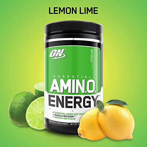 Optimum Nutrition - Essential Amino Energy - Sabor Lima Limón - 30 Porciones
