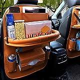 farmer-W Multifunktions Auto Sitz Rücken Tasche, Autositze Multifunktionssitzauto Rückentasche Leder Aufbewahrungstasche
