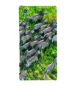 ifasho Designer Phone Back Case Cover Sony Xperia Z5 :: Sony Xperia Z5 Dual 23MP ( Football Fan Art Love For Game )
