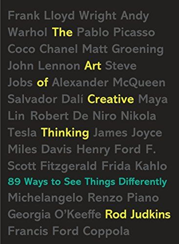 Read online the art of creative thinking 89 ways to see things the art of creative thinking 89 ways to see things differently rod judkins i read this book while researching making connections for my own book on the fandeluxe Gallery
