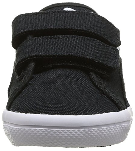 Puma Elsu, Baskets mode bébé garçon Noir (Black/Black/White)