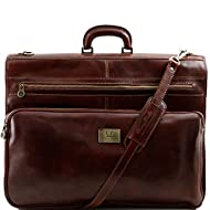 Tuscany Leather - Papeete - Porta trajes en piel Marrón - TL3056/1