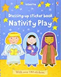 Dressing Up Sticker Book Nativity Play (Usborne Getting Dressed Sticker Books) (Getting Dressed Up Sticker Bk)
