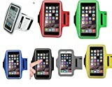 #8: Youbon 5.5 inches Mobile HandBand/ ArmBand Perfect Sports Running jogging Gym Fit and Similar Size Phone New desine XL Size Phone Multi Color