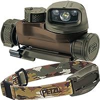 PETZL Strix IR Tactical HEADLAMP with Visible and Infrared Lighting (Camo)