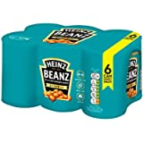 Heinz Baked Beanz Tomato in a rich tomato Sauce, 415g (Pack of 6)