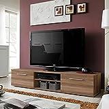 Paris Prix - Meuble TV Design Bono II 180cm Prunier